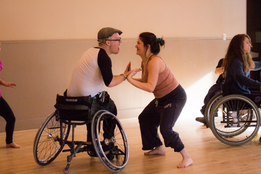 Integrated Wheelchair Dance Workshops